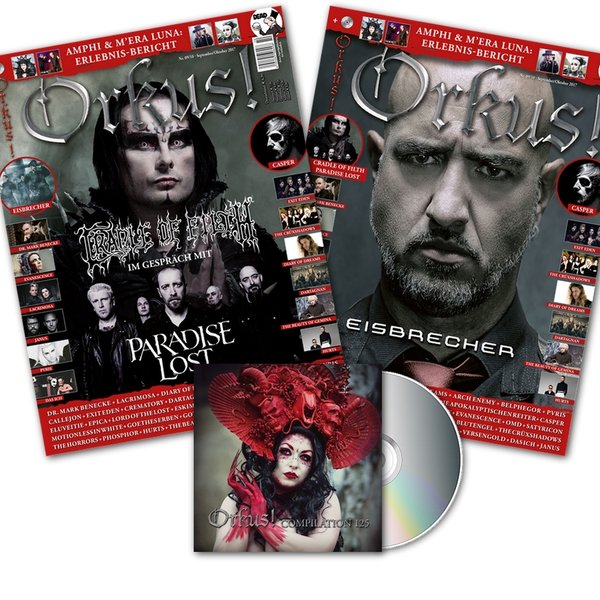 ORKUS! 9-10/2017 - CRADLE OF FILTH + PARADISE LOST