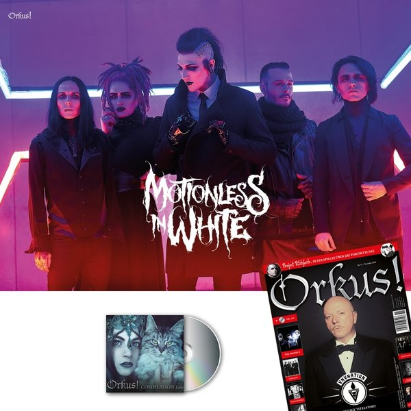 MOTIONLESS IN WHITE XXL-Poster + November-Ausgabe 2018