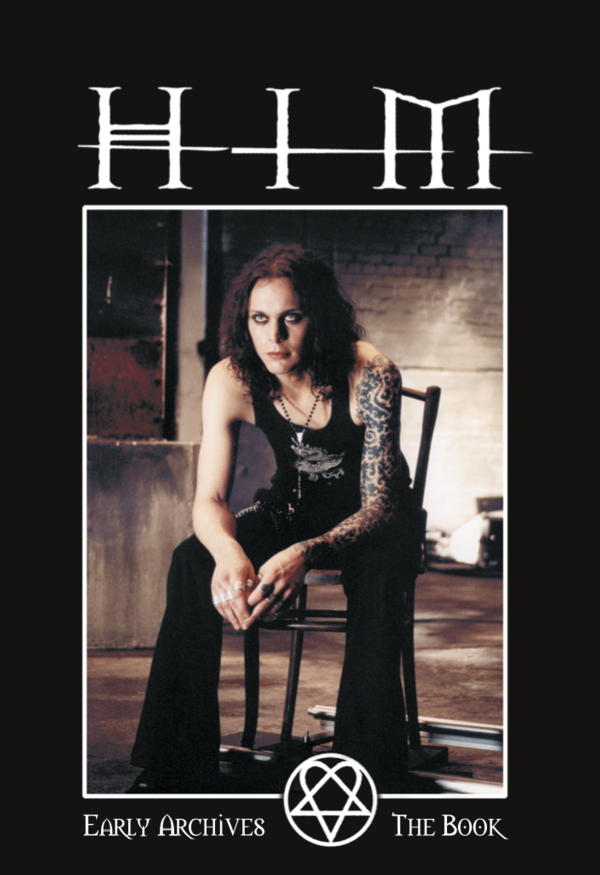 "HIM - THE BOOK - Early Archives (deutsch) + HIM ""Heartagram""-Aufkleber - neu!"