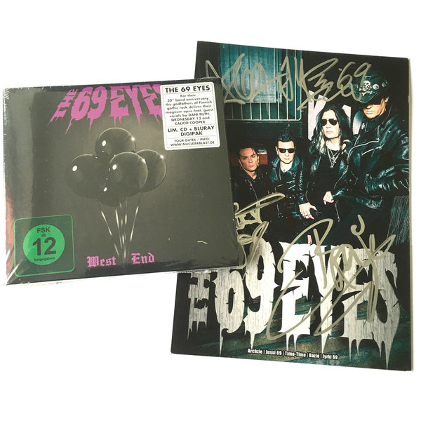 "10 x Orkus! + The 69 Eyes ""WEST END"" (CD) + Autogrammkarte + ""Ü-CD"""